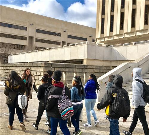 ECHS Students Visiting University of Pittsburgh