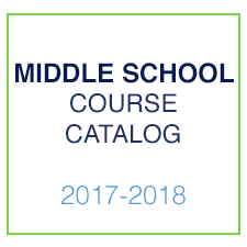Middle School Course Catalog 2017-2018