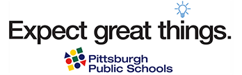 Expect great things. Pittsburgh Public Schools logo