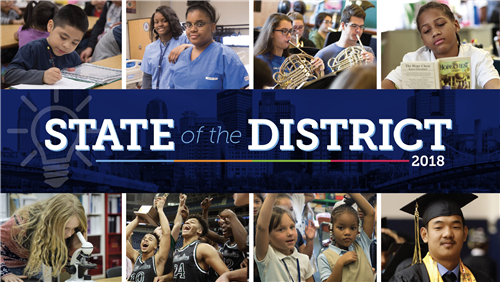 2018 State of the District Logo