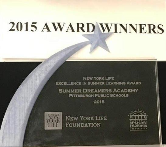 Summer Dreamers wins a 2015 New York Life Excellence in Summer Learning Award