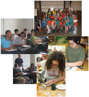 Gifted Students Collage