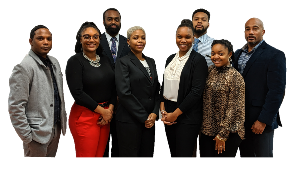 Student Equity Advocates - 8 Black people