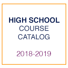 High School Course Catalog 2018-2019