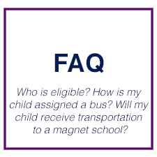 FAQ for transportation