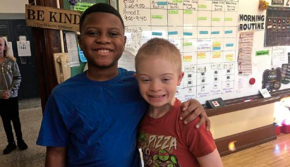 An awesome friendship between 10-year-olds at Pittsburgh's Beechwood Elementary