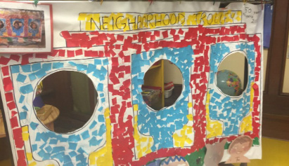 Beechwood Kindergarteners Learn with Mister Rogers' Neighborhood