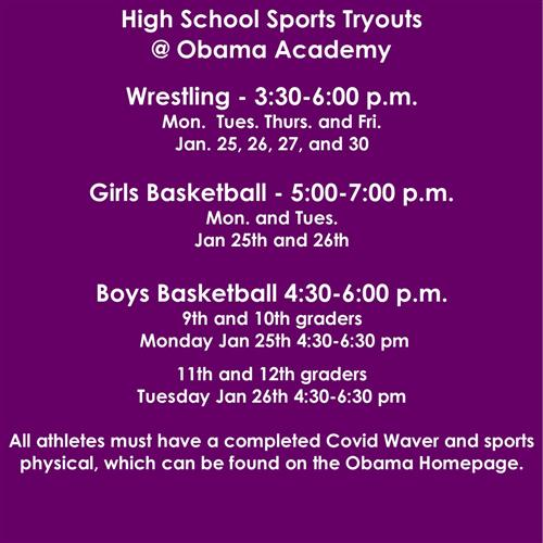 winter tryouts